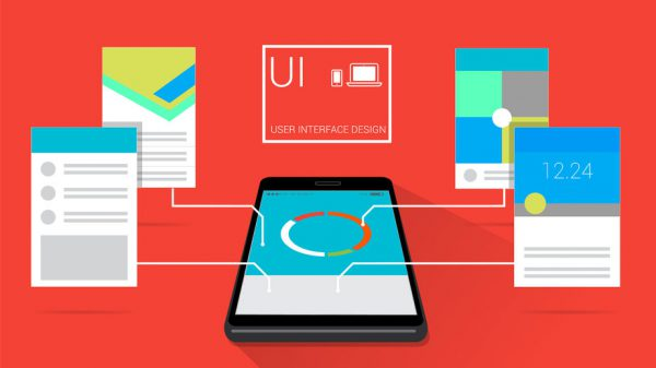 携帯とレイアウトでユーザー インターフェイス設計